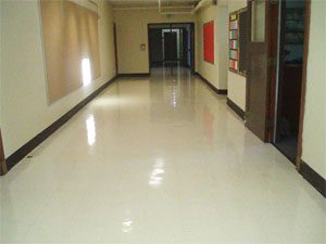 Floor care for commercial hard surface floors