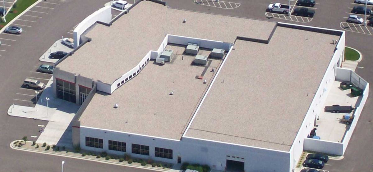 Commercial Roofing 1 Sound Cleaning